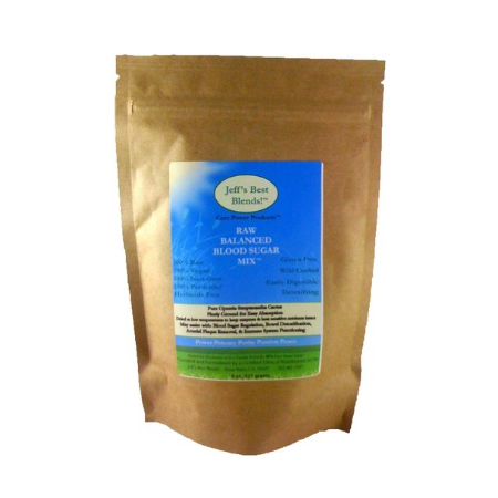 Raw Blood Sugar Balancing Mix - product pouch