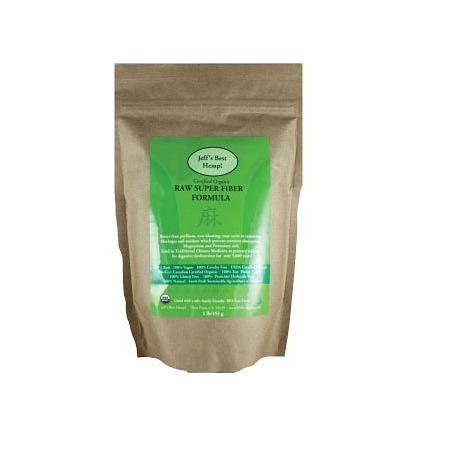 Raw Super Fiber Formula - product pouch