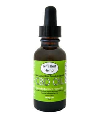Jeff's Best Hemp CBD Oil 1oz