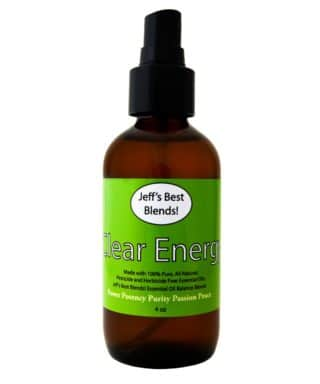 Jeff's Best Hemp Clear Energy Synergistic Balancing Mist
