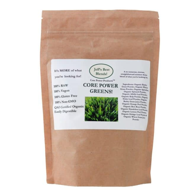 Jeff's Best Hemp Core Power Greens