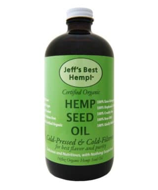 Jeff's Best Hemp Seed Oil