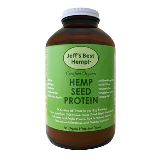 Jeff's Best Hemp Hemp Seed Protein