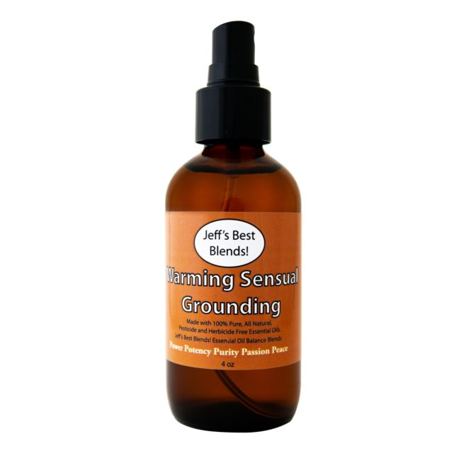 Jeff's Best Hemp Warming Sensual Grounding Synergistic Balancing Mist